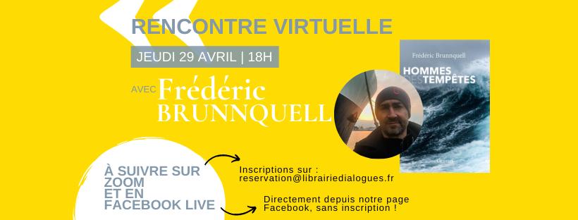 Rencontre virtuelle avec Frédéric Brunnquell