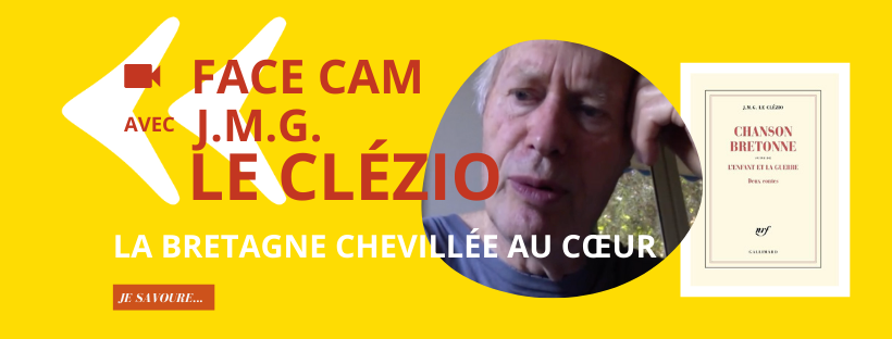 Face Cam avec Le Clezio