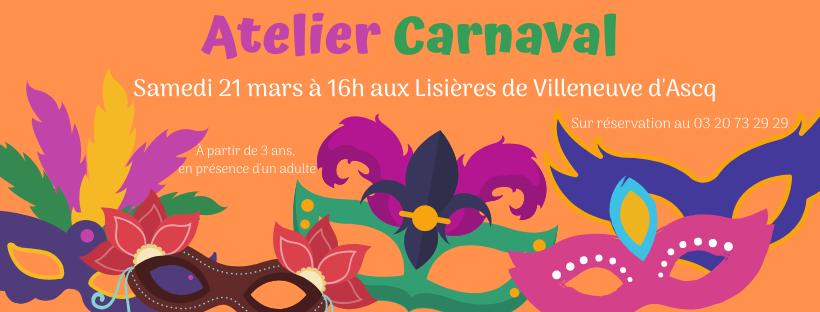 Atelier Carnaval !