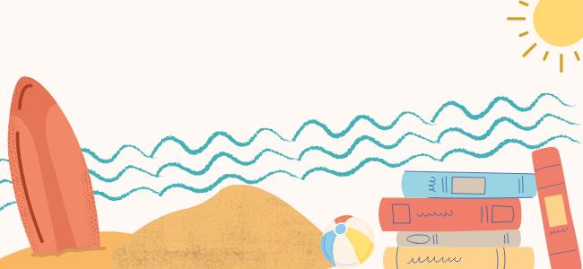 S'évader en lecture sur la plage ...