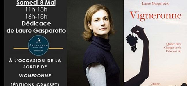 Dédicace de Laure Gasparotto!