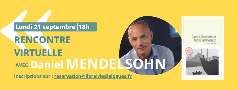 Rencontre avec Daniel Mendelsohn