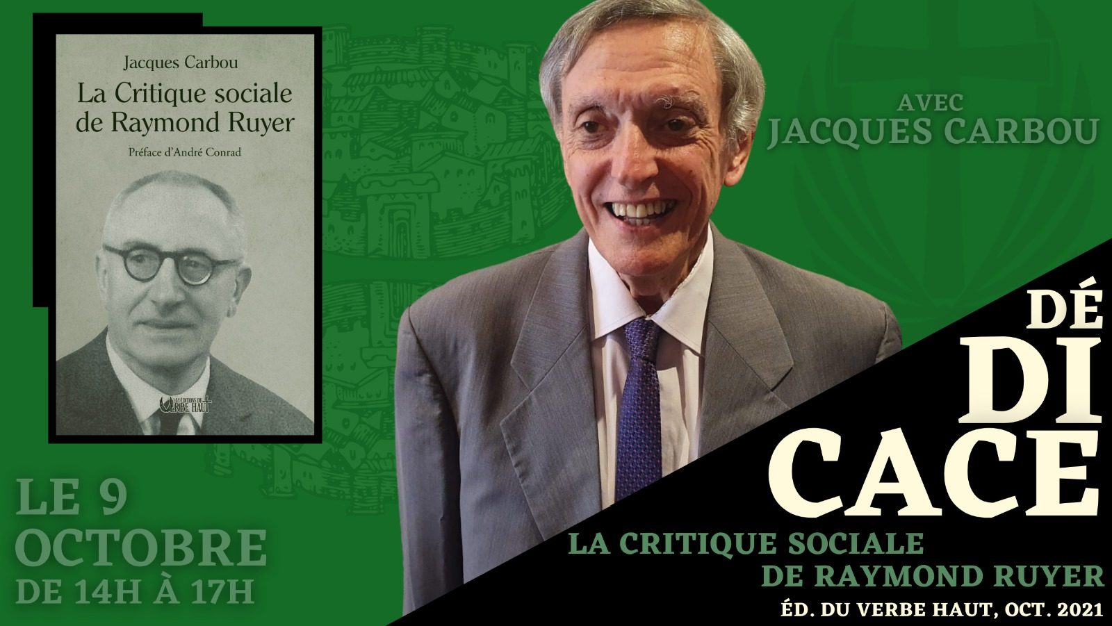 Jacques Carbou en dédicace
