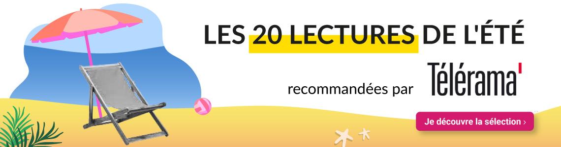 Les 20 lectures de l'été recommandées par Télérama