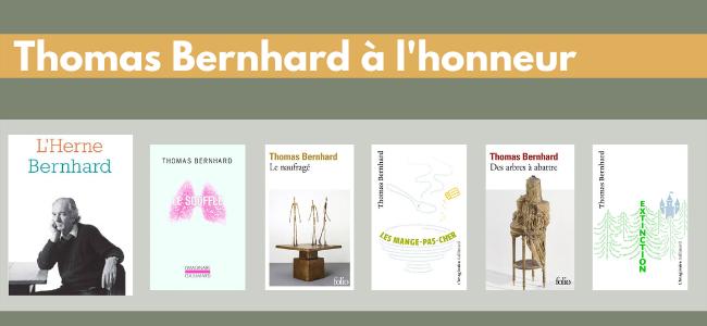 Un auteur à l'honneur....Thomas Bernhard