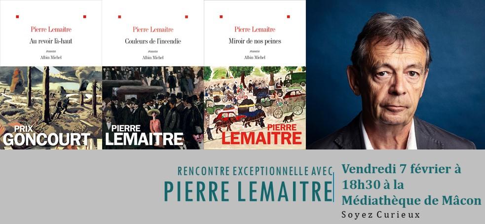 Renontre avec Pierre LEMAITRE