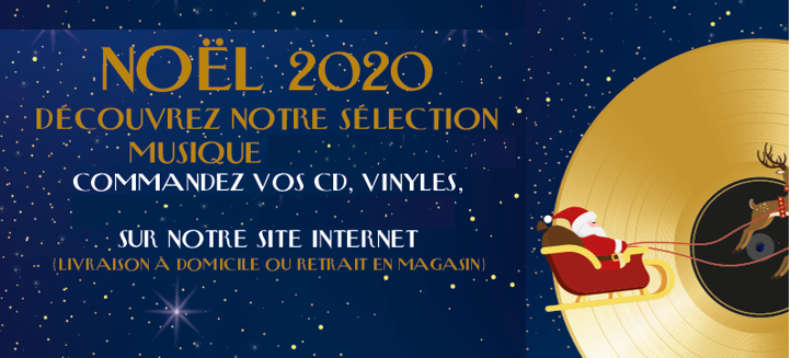 CD, Vinyles, offrez de la musique !