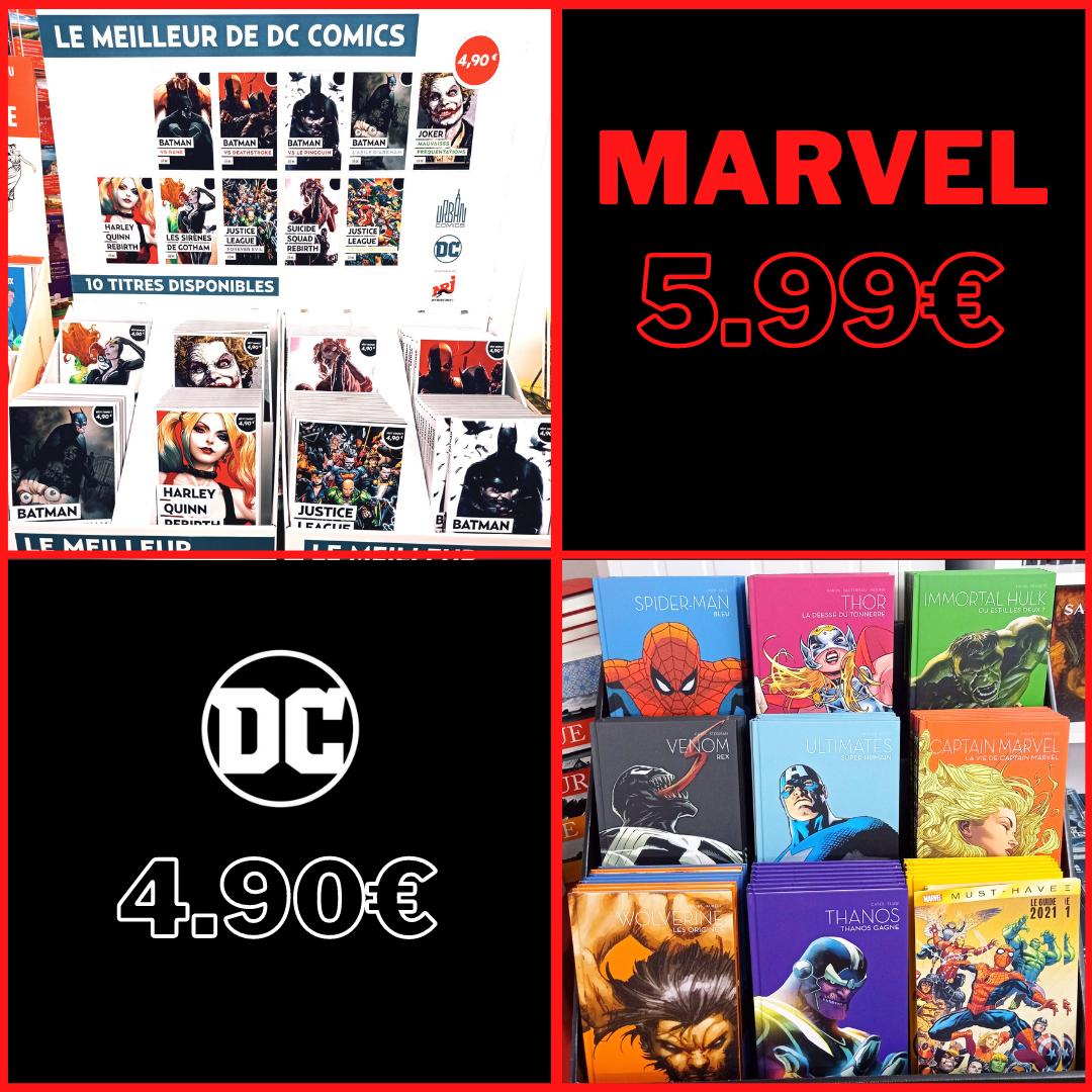 Comics à petits prix !
