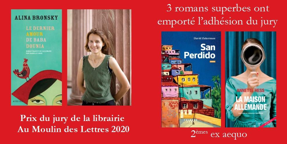 Prix du Moulin des Lettres 2020