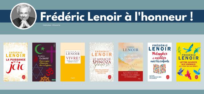 Frédéric Lenoir à l'honneur !