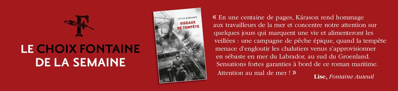 CHOIX FONTAINE DE LA SEMAINE 210609