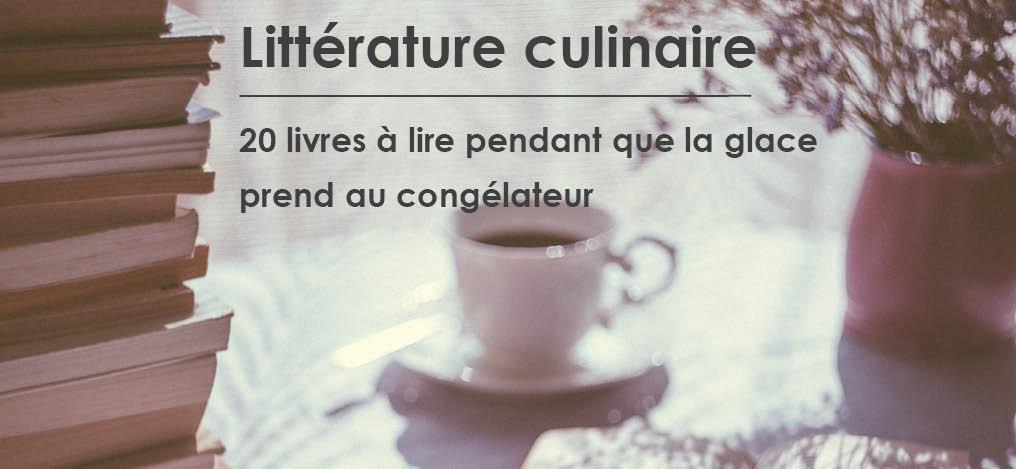 Littérature culinaire