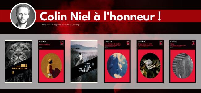 Un auteur à l'honneur : Colin Niel