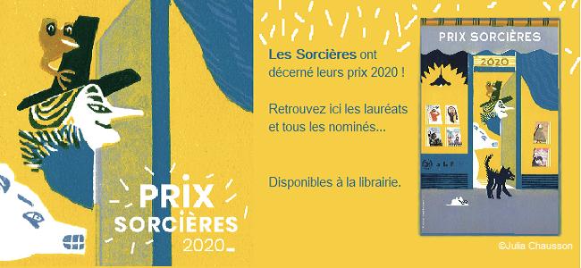 Prix Sorcières 2020 !
