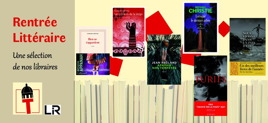 Notre sélection de la rentrée littéraire
