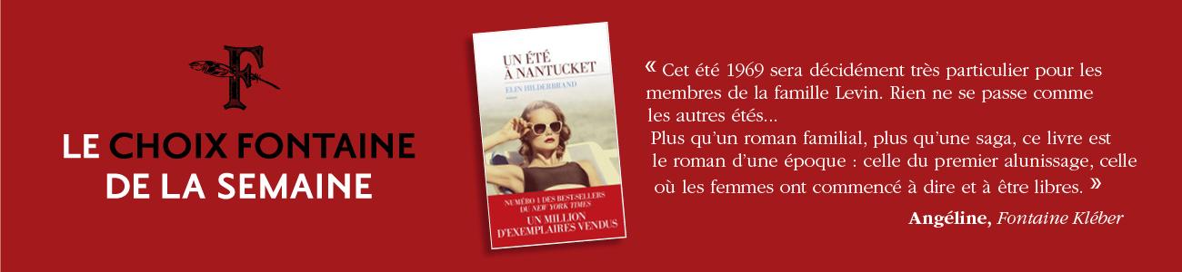 CHOIX FONTAINE DE LA SEMAINE 210721
