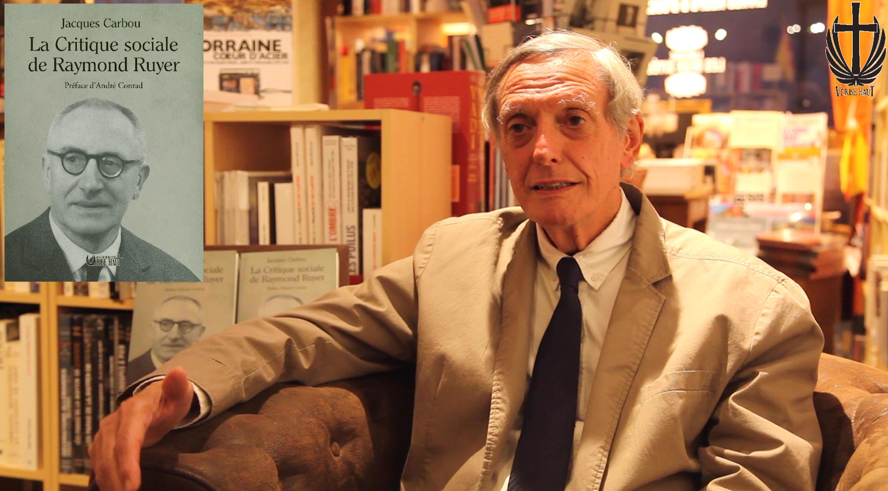 Jacques Carbou parle de son livre