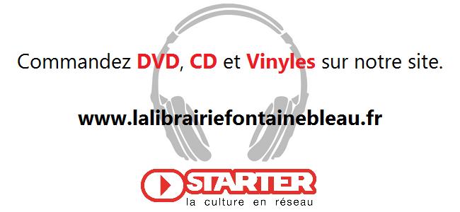 CD/DVD/VINYLES DISPONIBLES SUR NOTRE SITE !