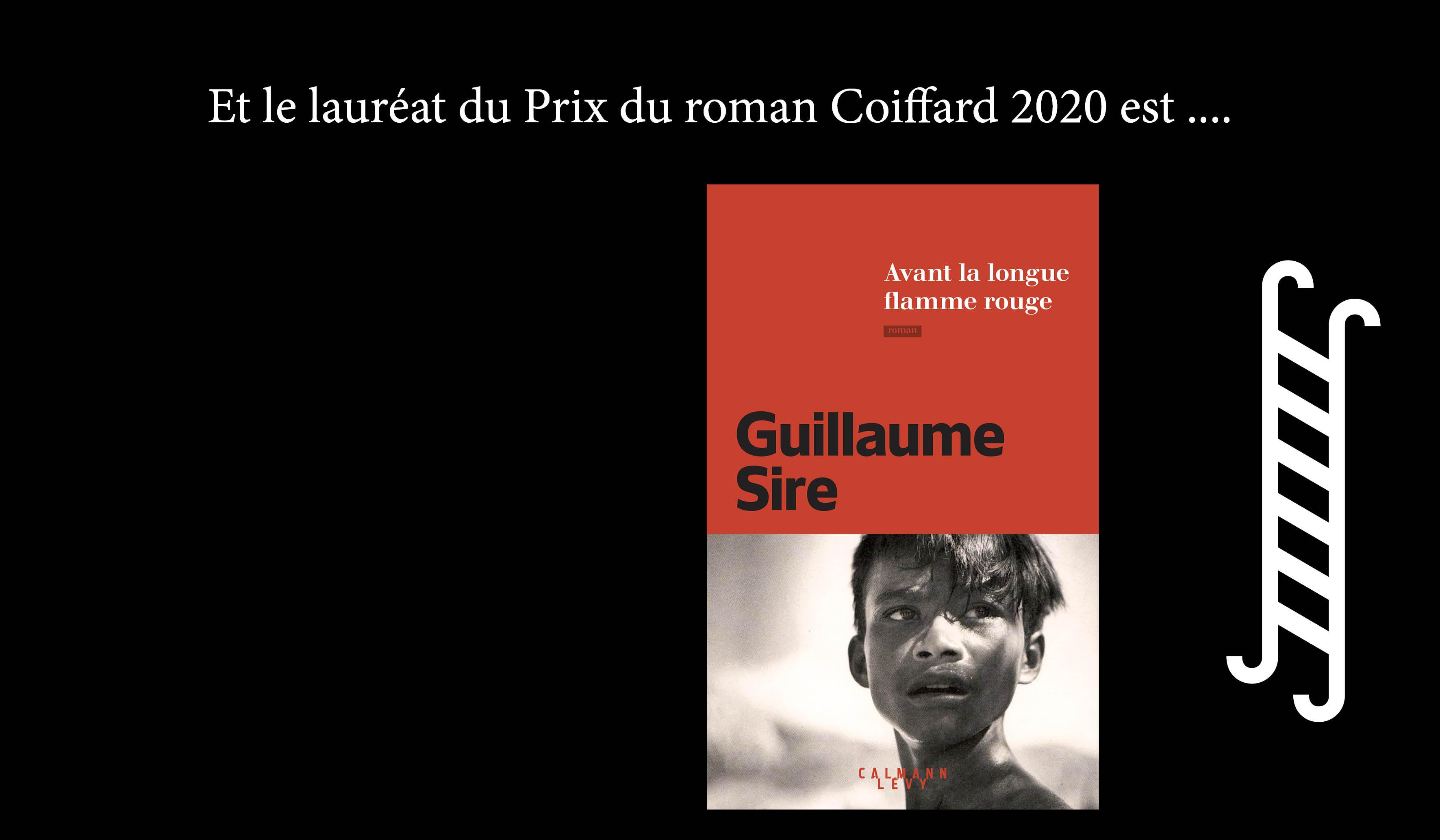 Guillaume Sire Lauréat du Prix Coiffard 2020