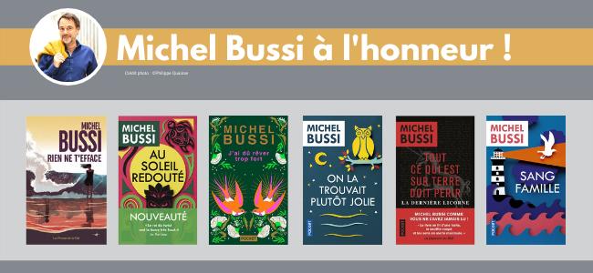 Un auteur à l'honneur...Michel Bussi