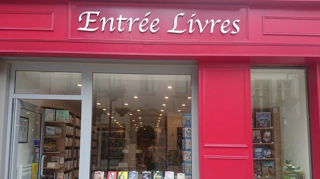 """Librairie """"Entrée Livres"""""""