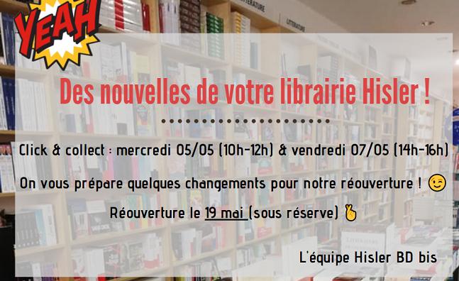 Infos librairie