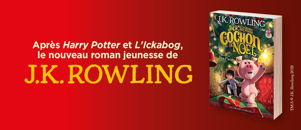 Le nouveau roman de J.K Rowling !