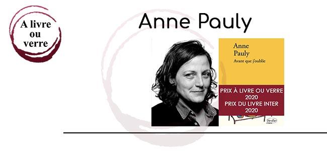 Lauréate 2020 Prix À livre ou verre