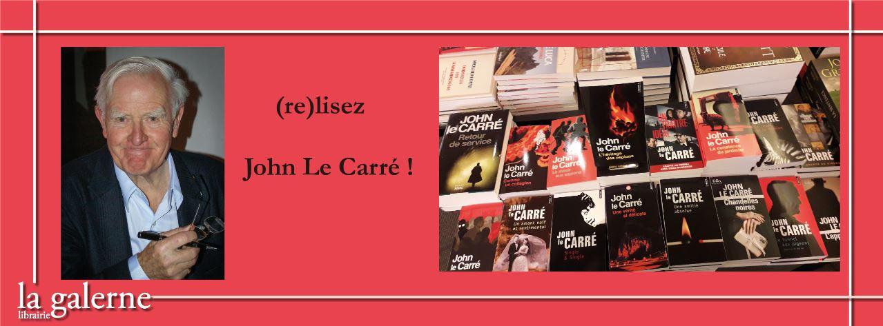 (Re)lisez John Le Carré !