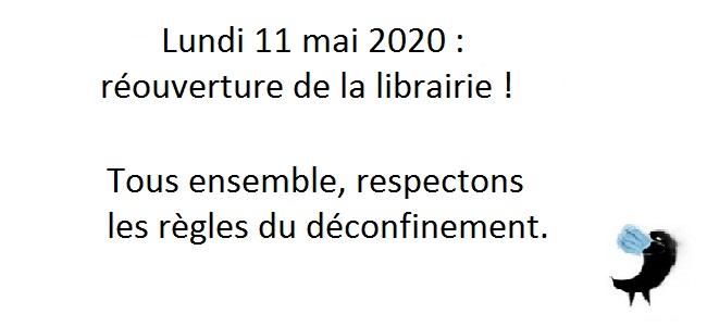 Réouverture - 11 mai 2020