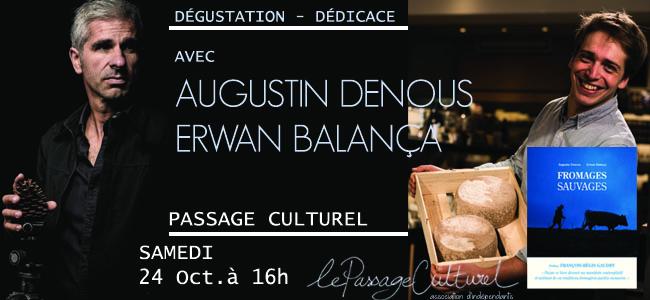 Dégustation - Dédicace Fromages Sauvages