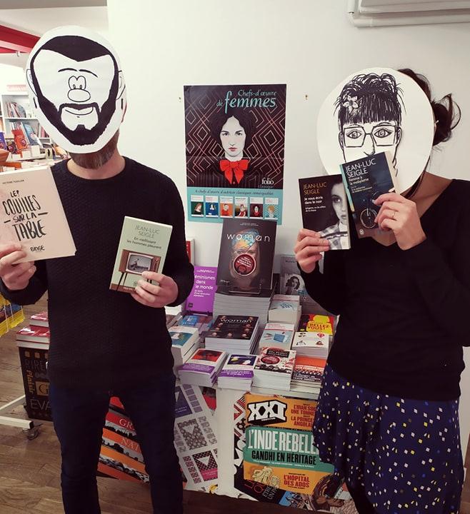 Le blog des libraires masqués