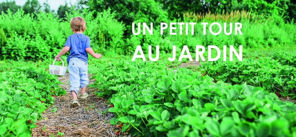 Livre jeunesse : un petit tour au jardin