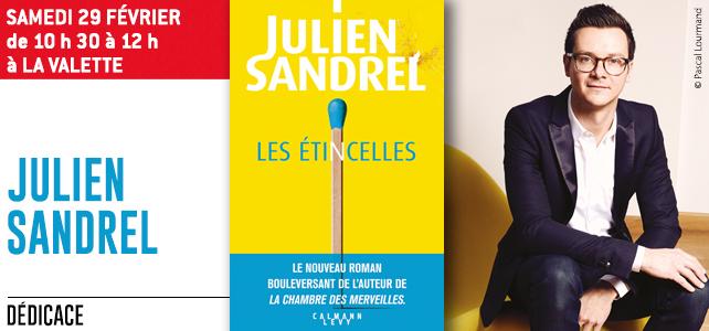 DEDICACE de Julien SANDREL