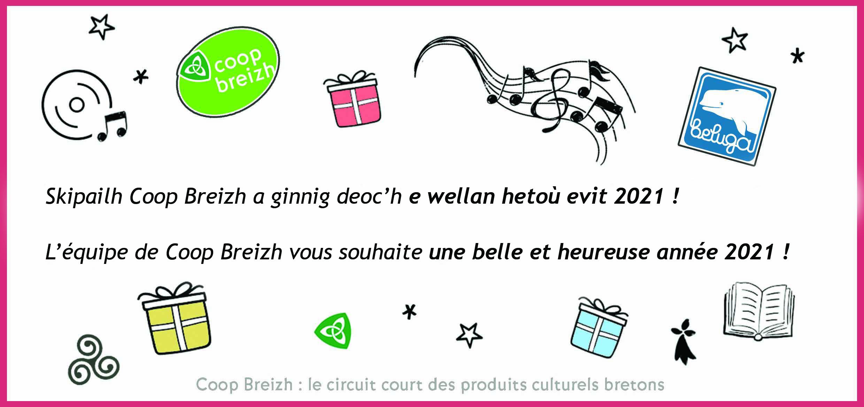 Coop Breizh Lorient et Quimper vous souhaitent ..