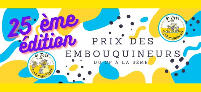 PRIX DES EMBOUQUINEURS 2020/2021