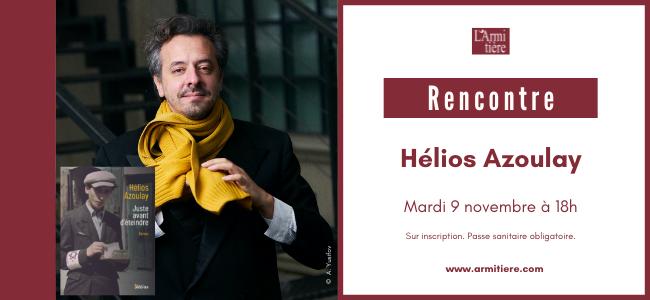Rencontre avec Hélios Azoulay
