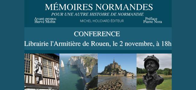 Conférence Mémoires normandes