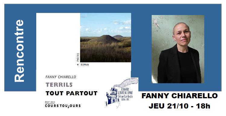 Rencontre avec Fanny Chiarello