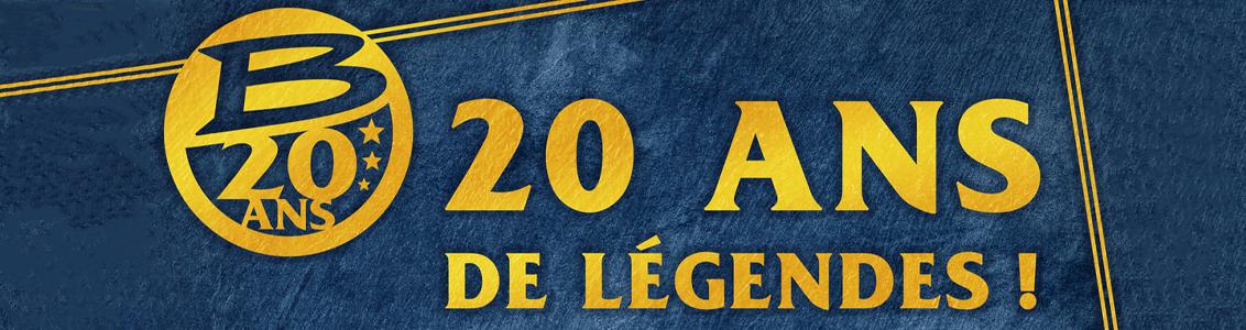 Bragelonne fête 20 ans de légendes !