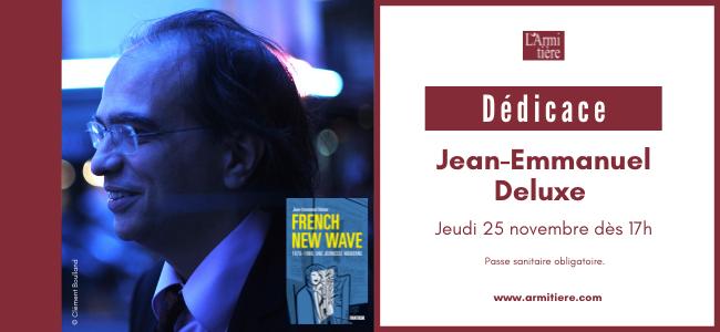 Dédicace avec Jean Emmanuel Deluxe