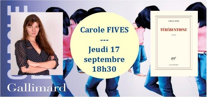 Rencontre avec Carole Fives