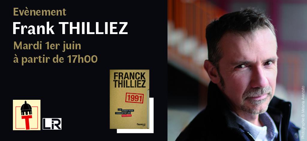 Franck Thilliez en dédidace