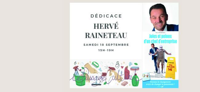 Dédicace Hervé Raineteau
