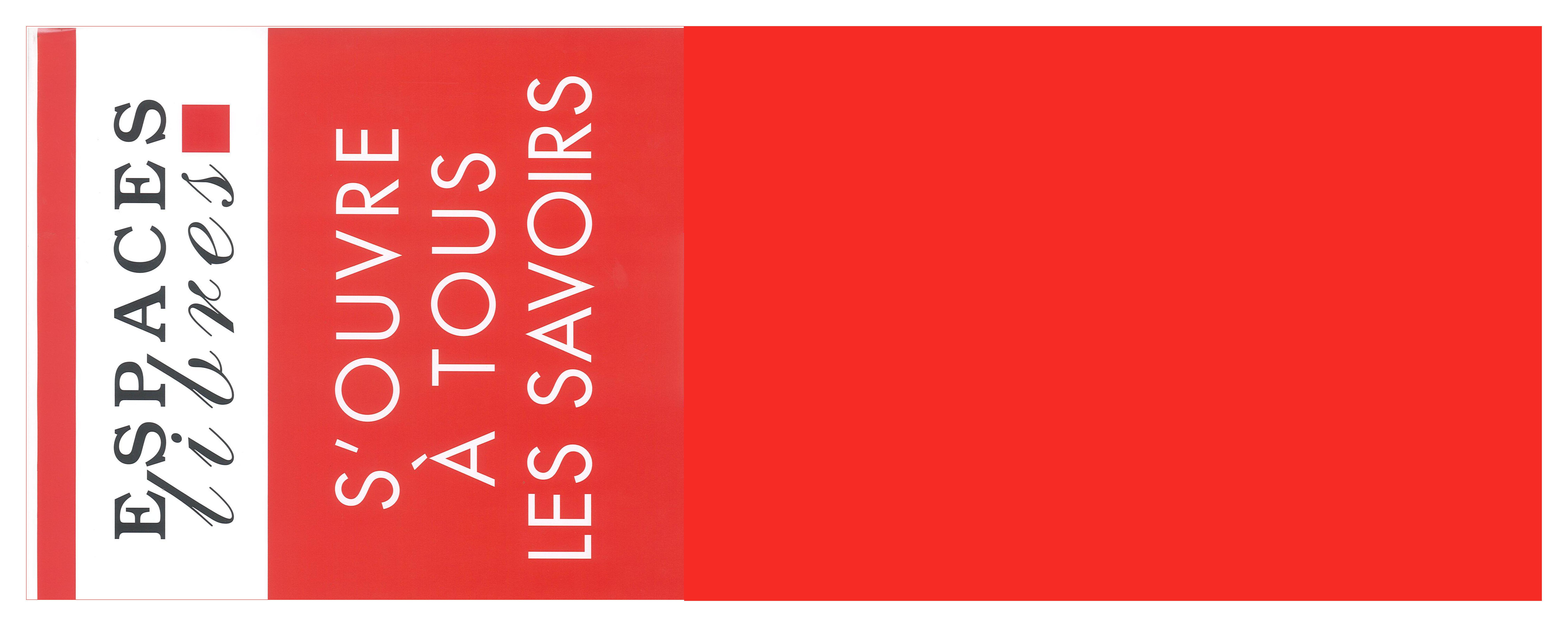 Venez découvrir la collection Espaces Libres !