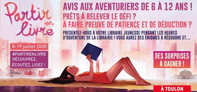 Partir en livre : Chasse au trésor à Toulon !