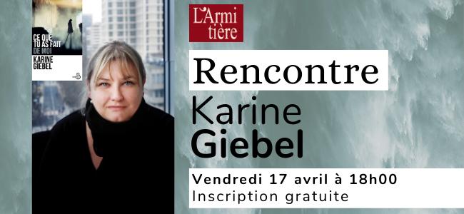 Rencontre avec Karine Giebel