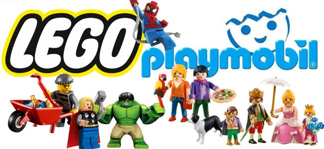 LEGO - PLAYMOBIL