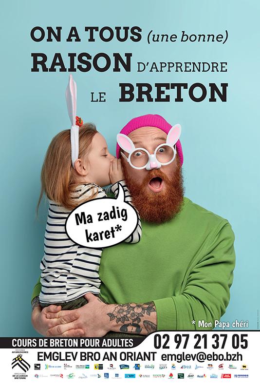 Deskiñ Brezhoneg / Cours de Breton