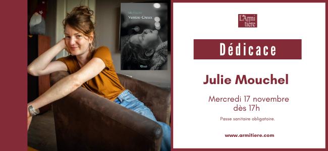 Dédicace avec Julie Mouchel